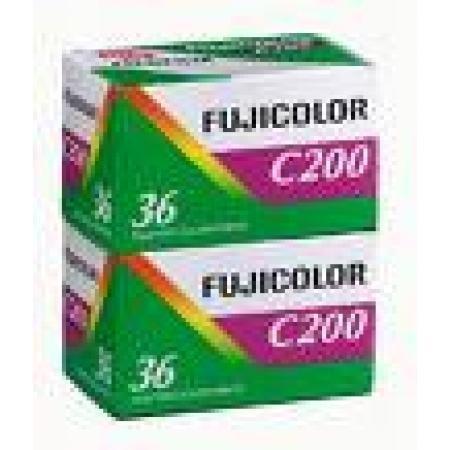 Fujifilm Fujicolor C 200 135-36X2 Film