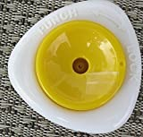 na-und Eierpicker modern weiss/gelb Eierdorn