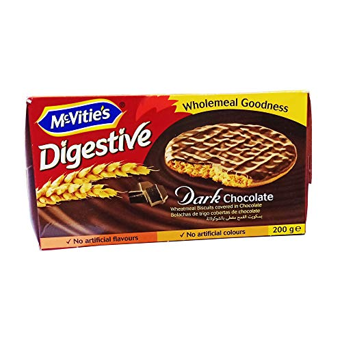 McVities Digestive Dark Chocolate Biscuits - 200 gm