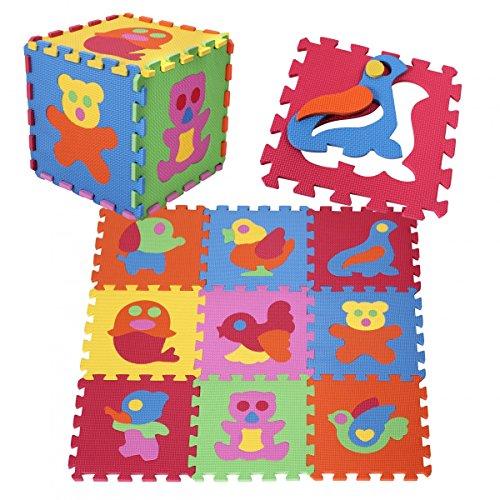 Puzzlematte pRINZBERT figurines jeu de tapis tapis tapis de sol en mousse mat 51 pièces
