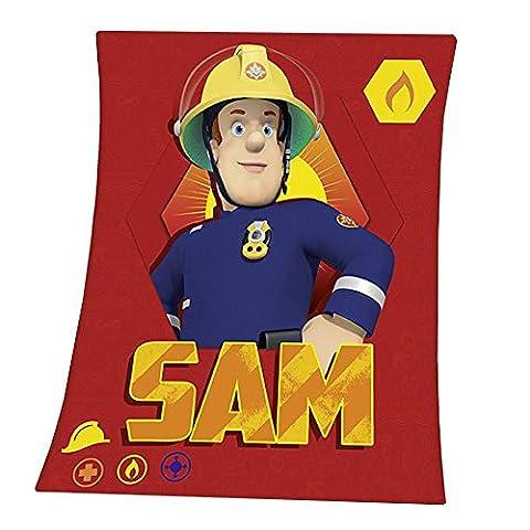 Fireman Sam - Fleece Blanket 130 x 160 cm