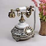 VOIP Telefone Fashion Creative Antique Phone Europäische Pastoral Retro Home Sitzbank Büro Telefon Anrufer ID Retro Telefon