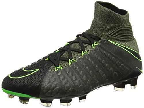 Nike Herren Hypervenom Phantom 3 Tc Fg Fußballschuhe Schwarz (Black/electric Green-sequoia-palm Green)