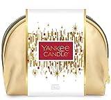 YANKEE CANDLE Set Regalo di Natale, Confezione con 2 Candele in Giara, 12 Tea Light e 6 Candele Votive Profumate
