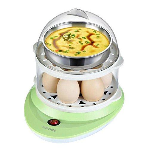 sbfwh Elektrische Eierkocher: Eierkocher mit Pochier-Einsatz, 7 Eier bzw. Spiegel- oder Rührei (Elektro-Eierkocher) , A