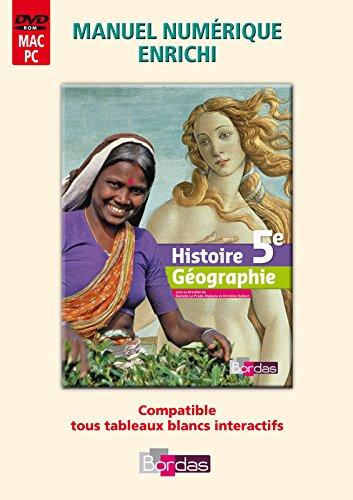 Histoire-Géographie 5e • Manuel numérique enrichi par (Broché)