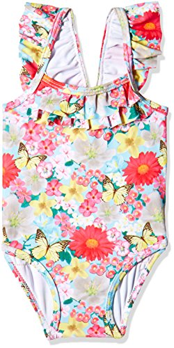 Mothercare Baby Girls' One Piece (HA885_Blue_3-6 M)