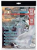 Ultra PRO 10pezzi nel blister Platinum pages 9di Pocket Bag, 25Blister