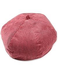 Lawevan Unisex Hombres Mujeres pintor del sombrero superior de boinas pana