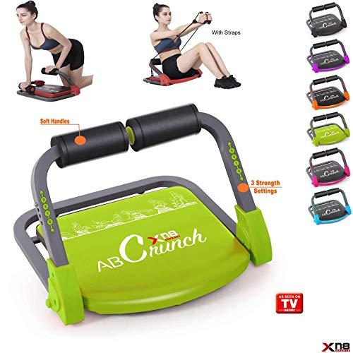 Xn8 Sports ABS Core Smart Body Ejercicio Máquina AB Tonificar Equipo de Entrenamiento Fitness Entrenador Gimnasio Hogar, Verde