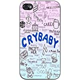 Cry Baby Song Art - Melanie Martinez Case / Color Black Plastic / Device iPhone 4/4s