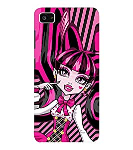 EPICCASE pinky girl Mobile Back Case Cover For Lenovo ZUK Z2 (Designer Case)
