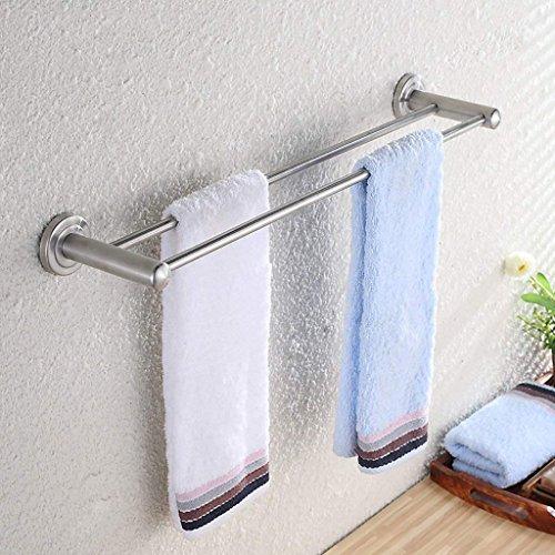 NAERFB Badezimmer Regal Handtuchhalter Wandhalterung an der Wand befestigten Turm Kleiderbügel aus Edelstahl Handtuchhalter Tür Bad Küche (Größe: 100cm) (Draht-regal-turm)