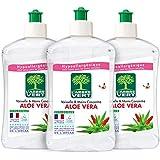 L'Arbre Vert - Vaisselle et Mains Aloe Vera - 500 ml - Lot de 3