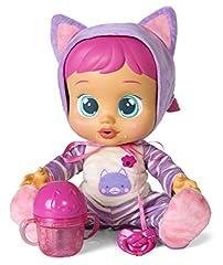 Idea Regalo - IMC Toys Katie Cry Babies Beve e Piange, 95939IM (Lingua Italiana)