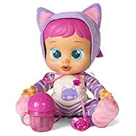 IMC Toys – Cry Babies – 95939 – Bebe' Piagnucolosi – Katie Cry Babies Beve e Piange