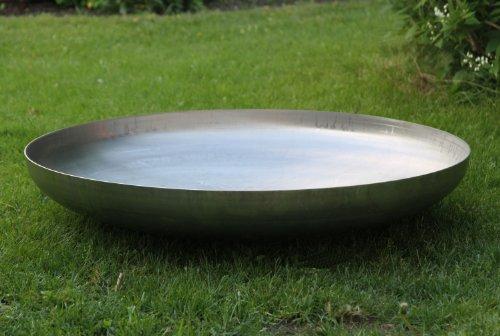 feuerschale kloepperboden Klöpperboden Feuerschale Edelstahl Ø 800 mm Grillschale 80 cm Wandstärke 3 mm