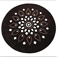 GMM® Carpets Modern Pastoral Home Handmade Dust Boots Floral Footrests Living Room Coffee Tables Bedrooms Bedside Computer Chair Non-Slip Mats