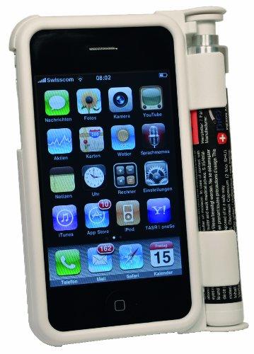 Piexon Iphone Schutzhülle mit Pfefferspray, weiß, 203566