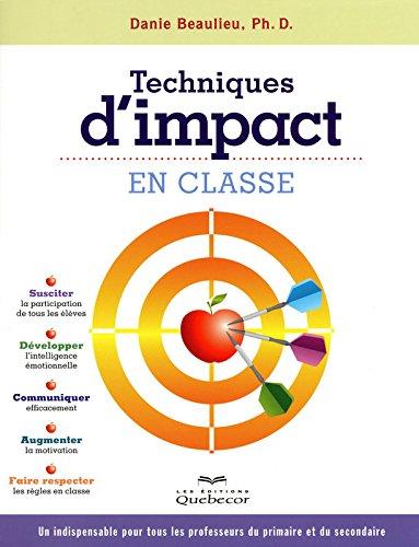 Techniques d'impact en classe 2ED par Danie Beaulieu