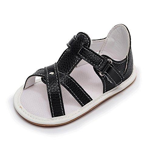 MäNner Und Frauen Tarnen Einfarbige Sandalen Mit Weichem Boden, Kleinkind Schuhe Und RöMische Schuhe,Sommer Baby Schuhe,Fashion Unisex Sandale Weiche Leder Neugeborene Weiche Alleinige Schuhe