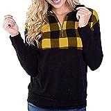 Black Friday Weihnachten Karnevalsaktion Damen Herbst Winter Bequem Lässig Mode Frauen Lässiges Damen Raglan Shirt mit Langen Ärmeln und bedrucktem Oansatz über Blusen