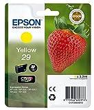 Epson Original T2984 Tintenpatrone Erdbeere, Claria Home Tinte, Text- und Fotodruck (Singlepack) gelb