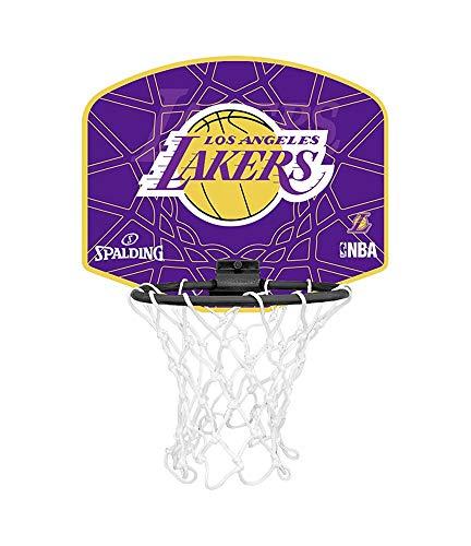 lizenziert Spalding Team Miniboard basketball set (L.A Lakers) ()