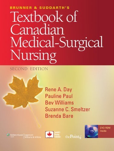 Brunner and Suddarth's Textbook of Canadian Medical-Surgical Nursing by Day, Rene A, Paul, Pauline, Williams, Beverly (2009) Hardcover