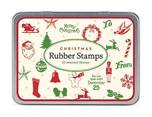 STSET/CHRMINI Natale Mini Set Stampi Gomma