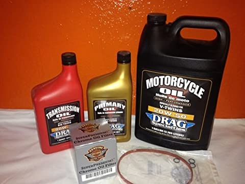 Harley Inspektionskit Dyna ab 2006 Ölfilter schwarz Twin Cam