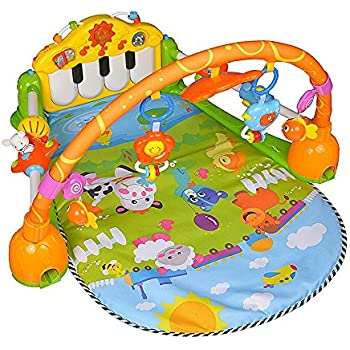 Grow With Me 3 In 1 Baby Activity Gym Play Mat Amp Ball Pit