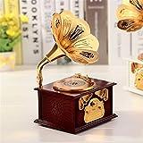 Souvent Vintage/Rétro plastique Gramophone Entonnoir Gramophone Music Box/Boîte de jeu avec tiroir rouge