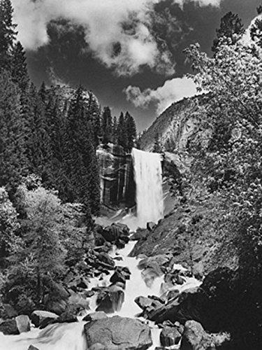 Monochrome Gallery - Yosemite National Park Poster Drucken (60,96 x 81,28 cm)