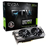 EVGA GeForce GTX 1070 FTW Gaming ACX 3.0, 8GB GDDR5, RGB LED, 10CM FAN, 10 Power...