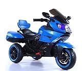 B37500 Motocicleta eléctrica SIDNEY para niños con luces y sonidos 12V - Azul