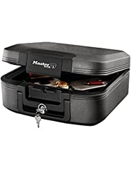 Fire resistant waterproof security chest with keyed lock. Size M. Protection against fire, water & theft