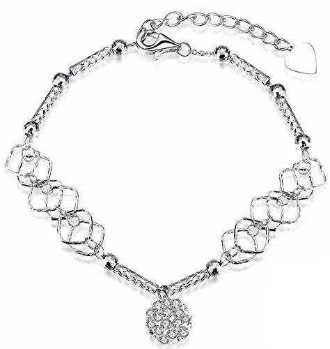 SaySure - 925 silver jewelry bracelets bangles Hanging bead pulseras
