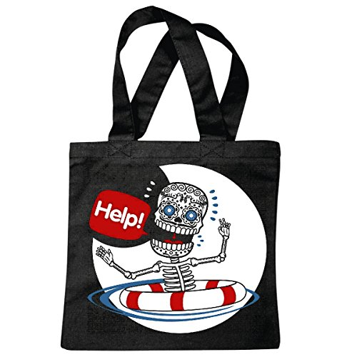 sac à bandoulière SKULL RING RESCUE AID SKELETON DÉTRESSE LIFESTYLE MEDITERRANEE VINTAGE ANCRE SKULL PIRATE VOILIER VOILIER DIRECTION SKULL PIRATE SAILING Collektion SKULL CANCER DE DIRECTION BUCCANE