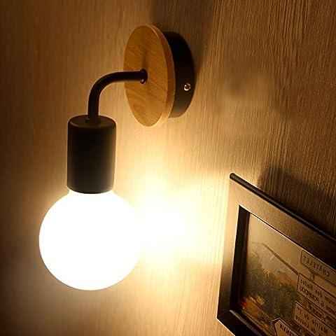 VanMe Moderne Led-Wandleuchte Lampe An Der Wand Montierte Murale Neben Licht Leuchte Wohnzimmer Badezimmer Schlafzimmer Lampen Dekoration Beleuchtung