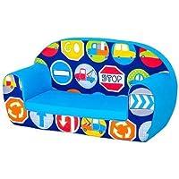Road Signs Design Children's Kinder-Mini-Schlafsofa Lounge Möbel