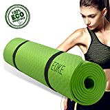 Yoga mat non slip Exercise mat with carry strap light weight for Exercise