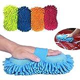 Manopla de microfibra Dooppa para lavado profesional, en varios colores