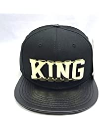 NEW KING SNAPBACK CAP BASEBALL HIP HOP ERA FITTED FLAT LEATHER PEAK HAT 7c9e70bca770