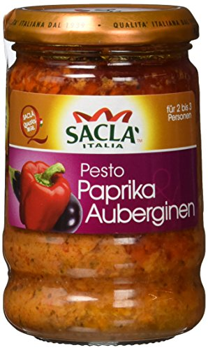 Sacla Pesto Paprika, 6er Pack (6 x 190 g)