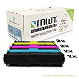 8x MWT XXL Remanufactured Toner für HP Color LaserJet Pro MFP M 277 dw n ersetzt CF400X-03X
