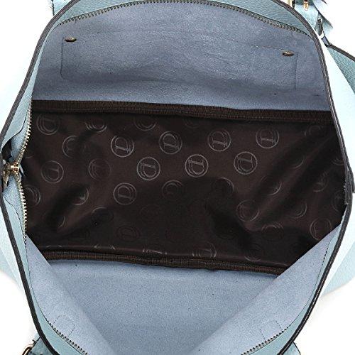 AiteFeir Borsa in pelle Hobo delle donne Totes scuola borsa di grandi dimensioni borsa di modo Lake Blue