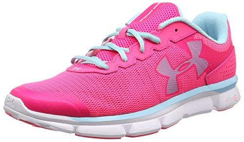 Under Armour Ua W Micro G Speed Swift, Chaussures de Running Compétition Femme Rose - Pink (Harmony Red)