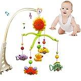 Giostrina, baby Music comodino Bell Cartoon presepe Hanging Bell, carillon musicale giocattoli per bambini