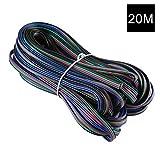 YOUKOYI RGB cavo di prolunga a 4 piedini Linea 4 Colore per RGB 5050 3528
